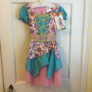 Girls Fortune Teller Gypsy Costume New!